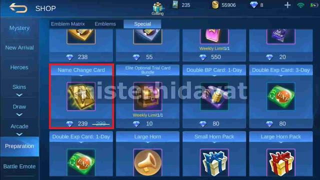 Download Script Name Change Card Ganti Nama Akun ML Gratis Download Script Name Change Card Ganti Nama Akun ML Gratis