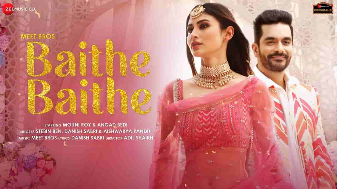 Baithe baithe lyrics Stebin Ben x Aishwarya Pandit x Danish Sabri Hindi Song