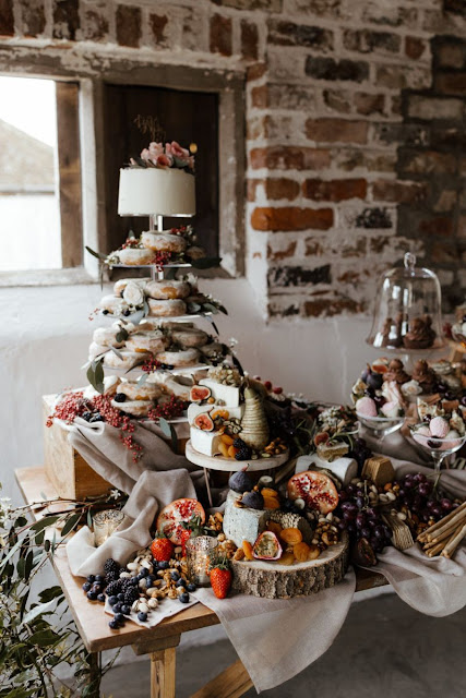 wedding grazing table