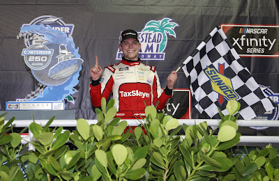 Myatt Snider's first #NASCAR Xfinity Series Victory at Homestead-Miami Speedway