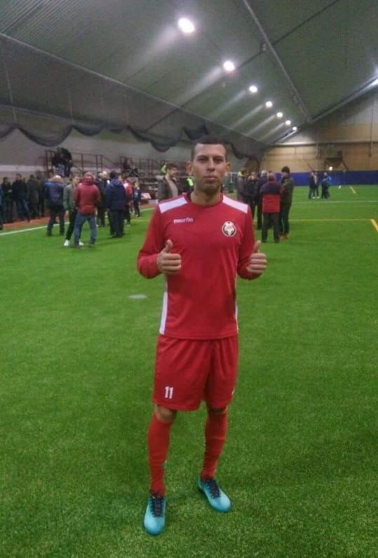 580374e392 Luan Vasconcelos está em busca de uma oportunidade de mostrar novamente seu  futebol para os amantes do Intermunicipal