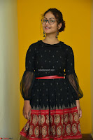 Aditi Myakal in Spicy Red Short Skirt and Transparent Black Top at at Big FM For Promotion of Movie Ami Tumi 069.JPG