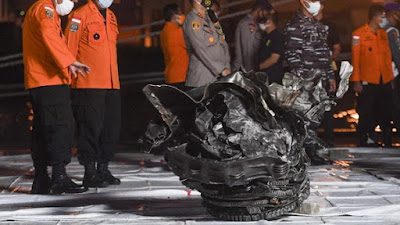 KNKT: Mesin Sriwijaya Air SJ182 Masih Hidup Sebelum Membentur Air