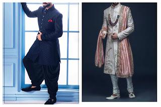 Two mens wearing sherwani.