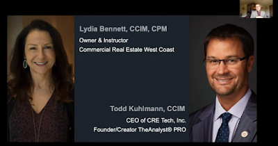 Lydia Bennett, CCIM, CPM & Todd Kuhlmann, CCIM