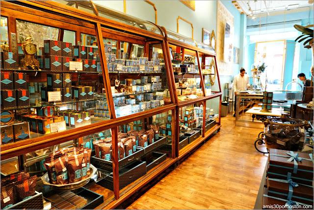 Ruta Gastronómica Dulce por Nueva York: Chocolatería MarieBelle