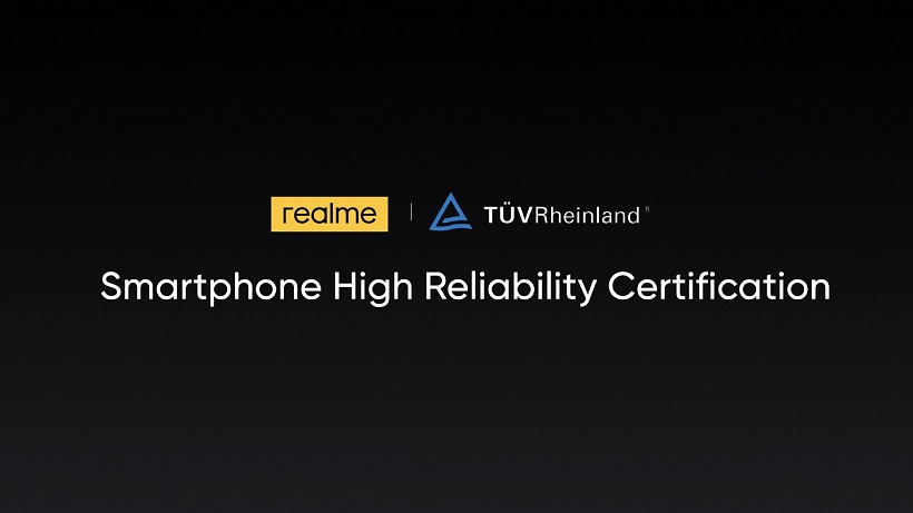 realme and TÜV Rheinland to set new quality standard in the global smartphone industry