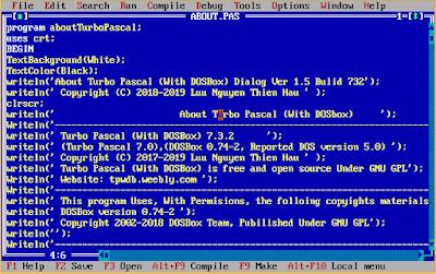 Contoh Pemrograman Pascal: Program Menu pada Warnet