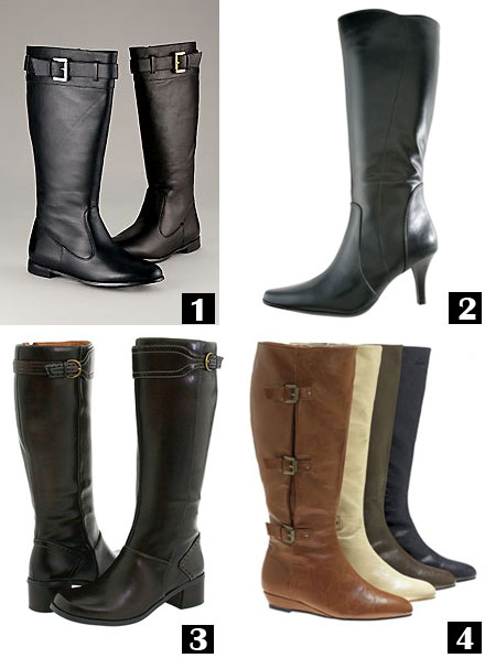 Style Blog: Wide Calf Boots for Women