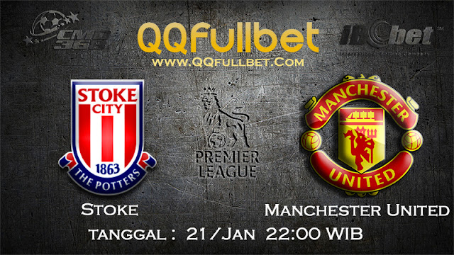 PREDIKSIBOLA - PREDIKSI TARUHAN BOLA STOKE CITY VS MANCHESTER UNITED 21 JANUARI 2017 (ENGLISH PREMIER LEAGUE)