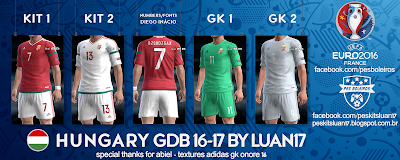 PES 2013 Hungary (MLSZ) Euro 2016 GDB by Luan17