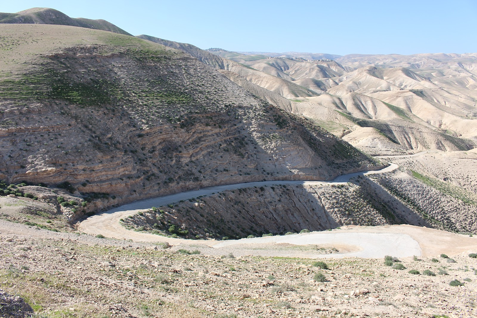 Wadi Qelt: The Valley of the Shadow of Death? -- Things To Do In Israel