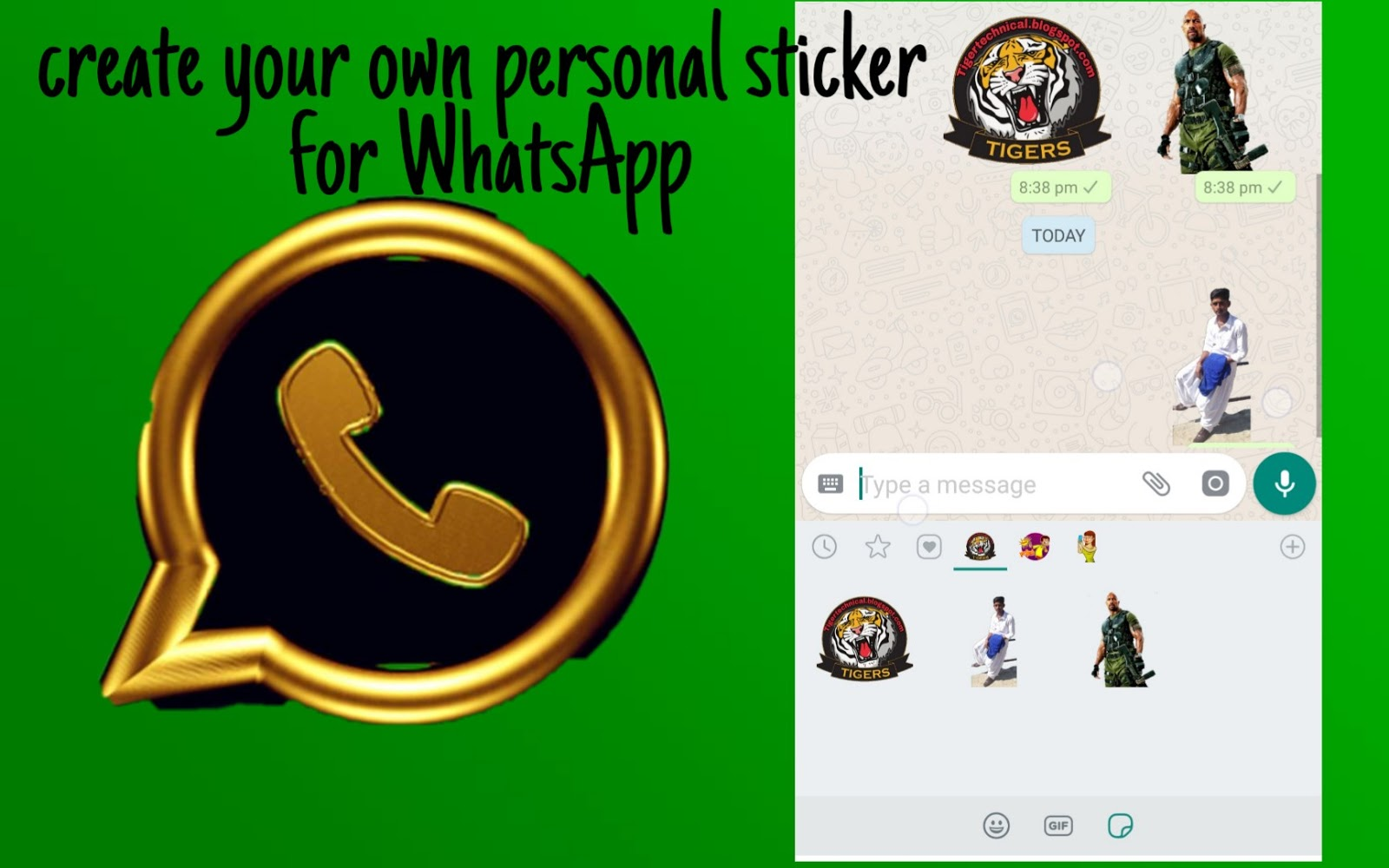 Whatsapp recently rolled out much requested sticker support and while you can get a range of stickers for whatsapp by either searching the application