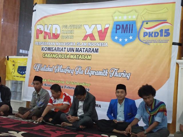 PMII Mataram Adakan PKD, Diharapkan Cetak Kader Mujtahid