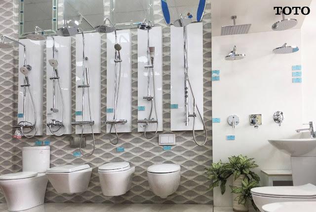 Xem giá cả thiết bị phòng vệ sinh Toto 2019 chính hãng ở Showroom Cty Hita
