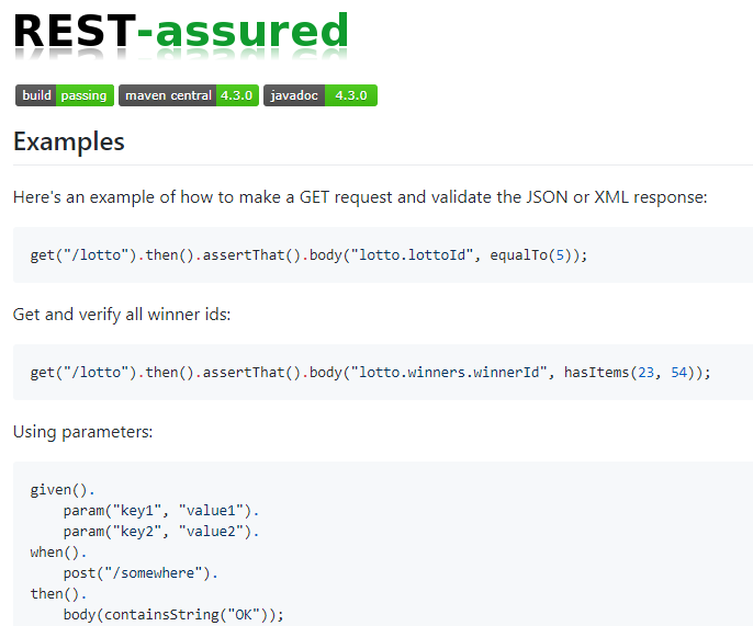 REST-assured - Top API testing tools - RightQA