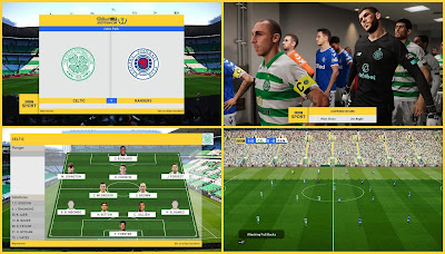PES 2020 Scoreboard William Hill Scottish Cup by Unknown32