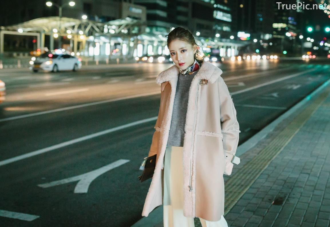 Korean Fashion Model - Kim Jung Yeon - Winter Sweater Collection - TruePic.net - Picture 8