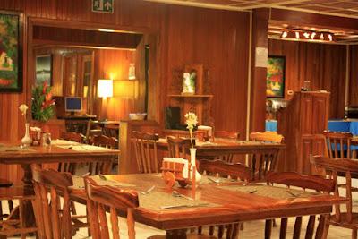 Restaurante del Hotel Heliconia en Monteverde