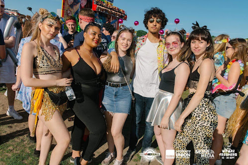 Bournemouth university students at Summer Ball