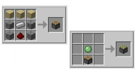 Crafting Minecraft
