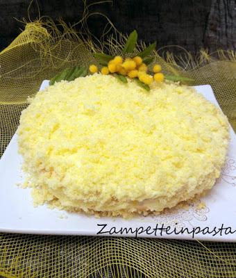 Torta mimosa all'ananas - Ricetta Festa della Donna