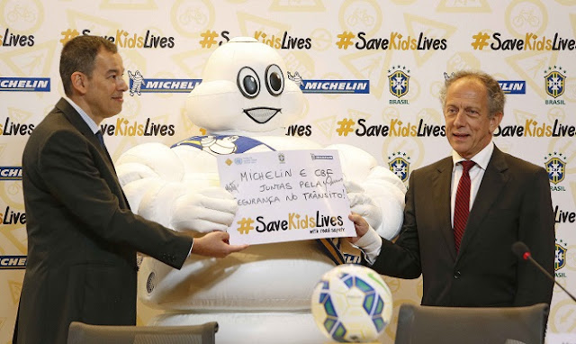 Michelín también rompe su contrato con la CBF