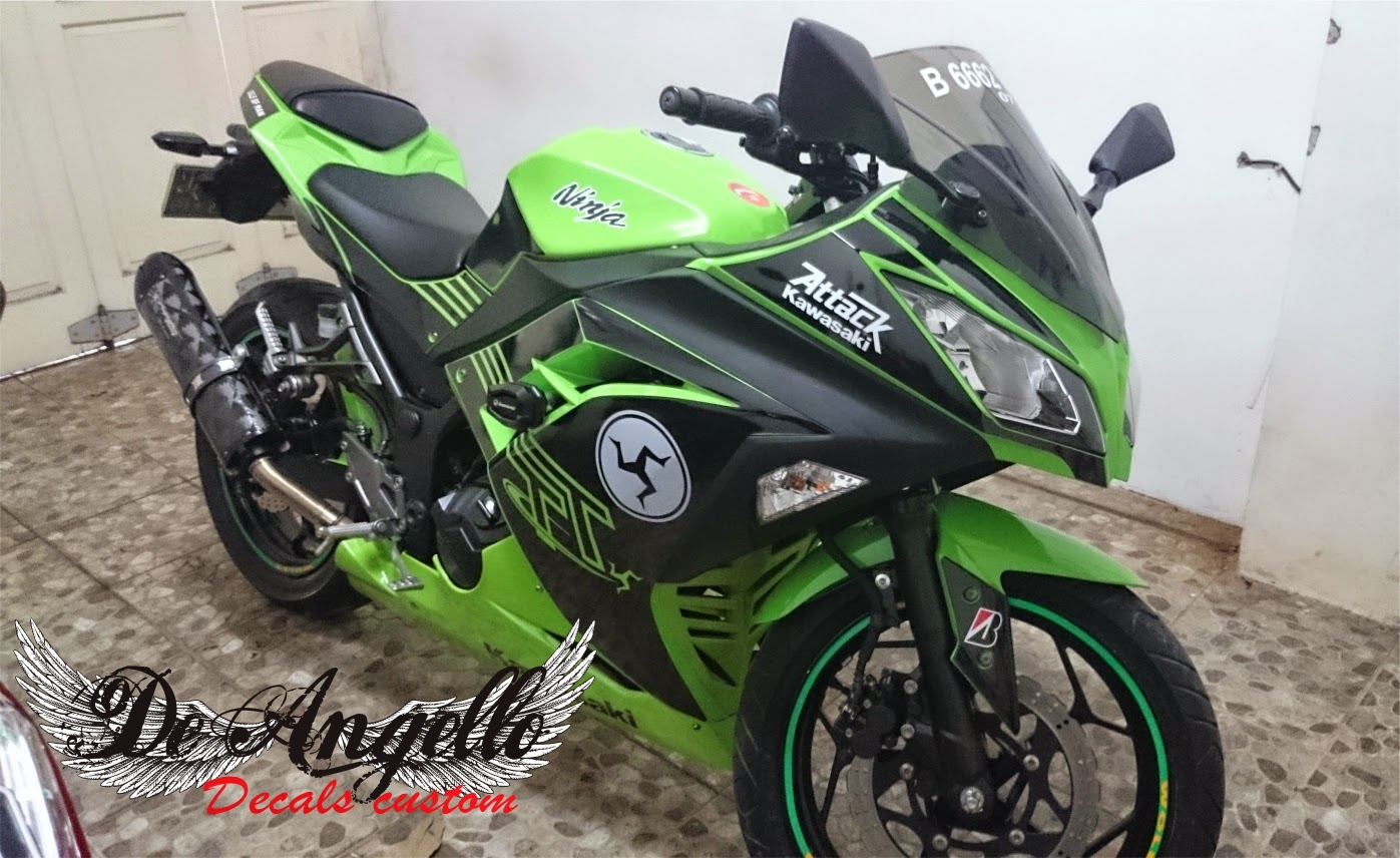 Koleksi modifikasi motor ninja 250 terkeren obeng motor