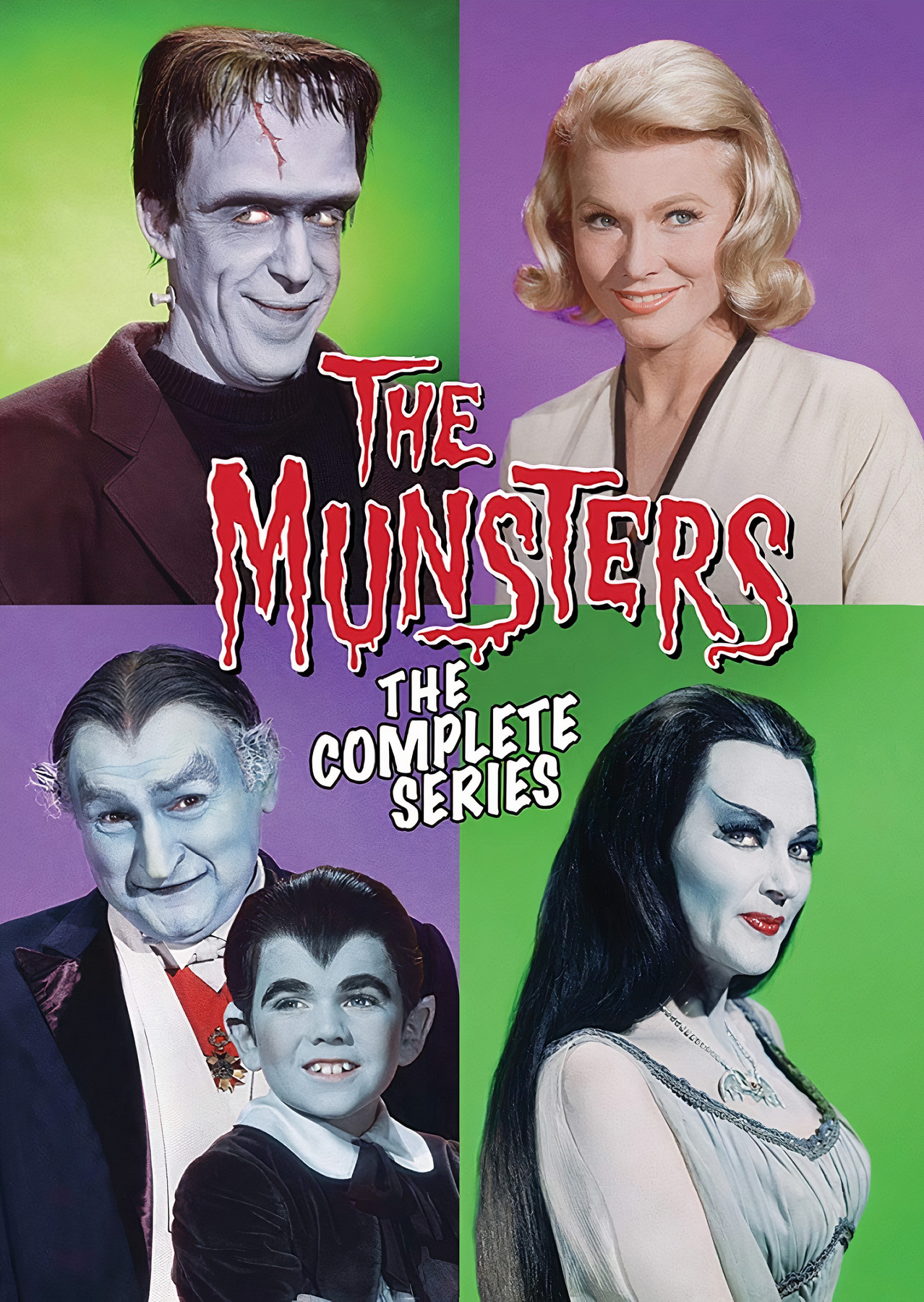 descargar la familia monster serie completa 1964 latino