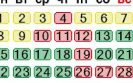 Подробный лунный календарь на февраль 2021 года