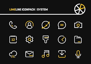 LimeLine IconPack : LineX v build 8 [Patched] Apk