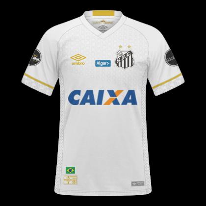 GT Camisas  Camisas Santos 2018   2019 - Home 743a99ead9a47