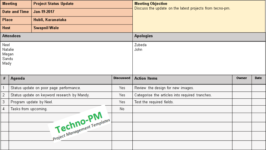 Mom Format Template 4 Types Download Free Project