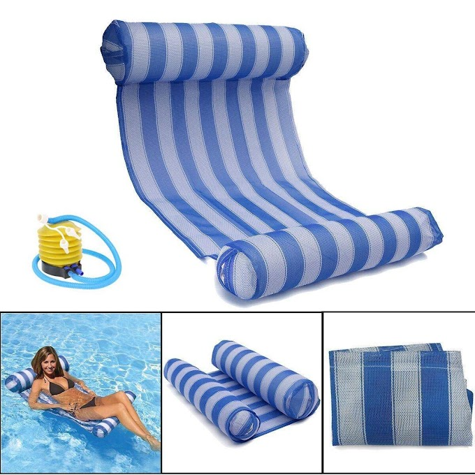 AMAZON - 25%OFF Water Hammock Pool Lounger Float