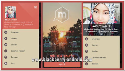 NEW BBM MOD 37154 ELYSAMIR V3 BASE 2.12.0.9 APK