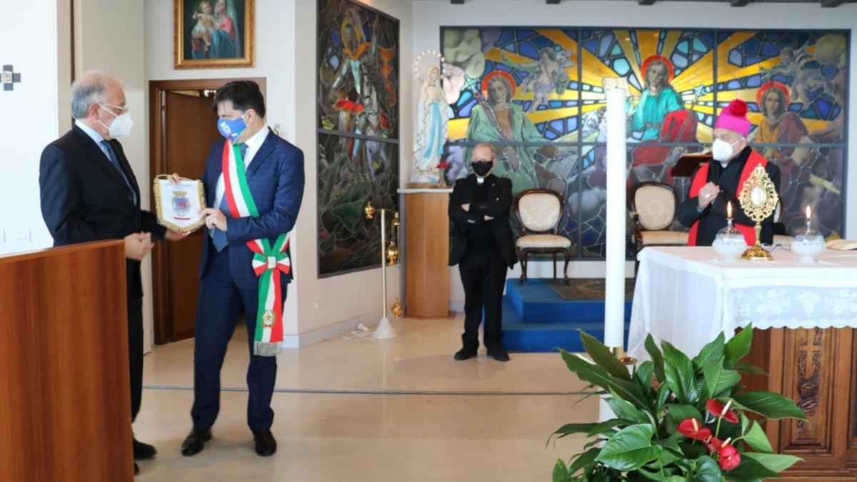 Incontro Sindaco Arcivescovo Ospedale Cannizzaro