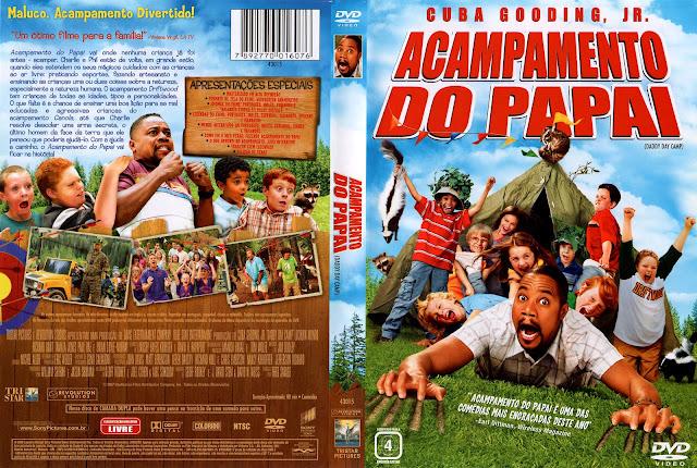 Capa DVD Acampamento do Papai
