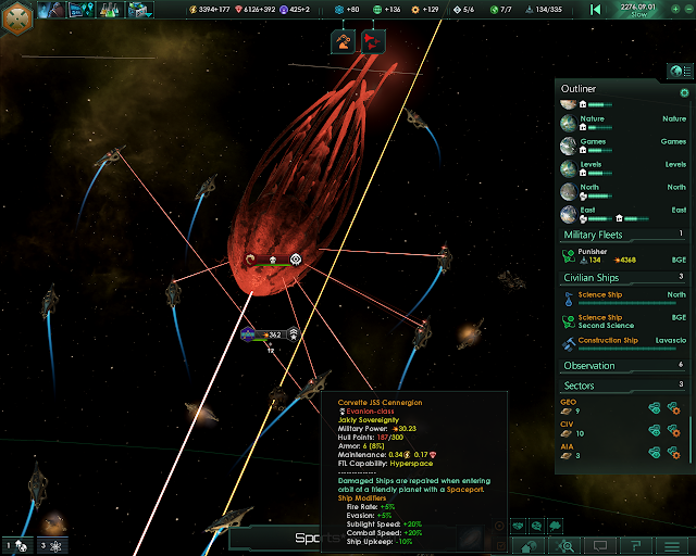 Space Monsters   Stellaris Screenshot