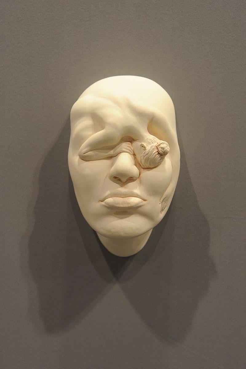Lucid Dream Porcelain Sculptures By Johnson Tsang