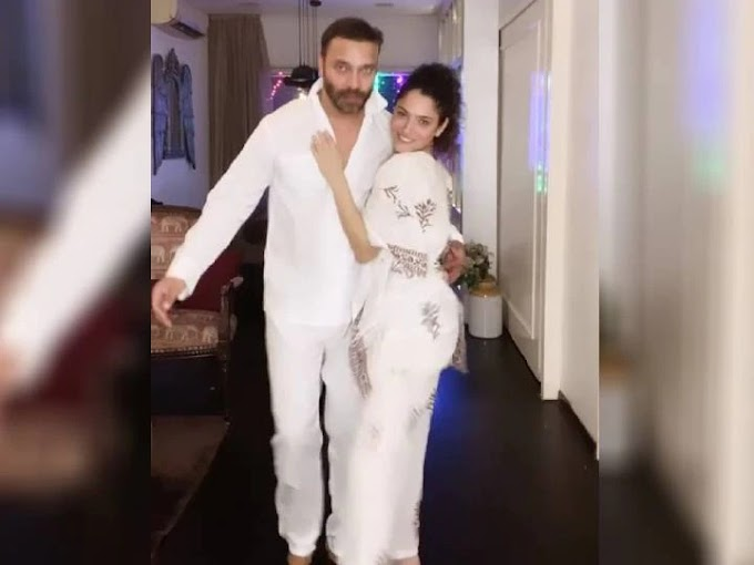 Viral Video: Ankita Lokhande dances with her fiance Vicky Jain in a night dress