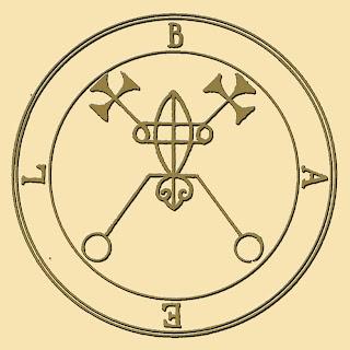 Bael ( Baal )sigil