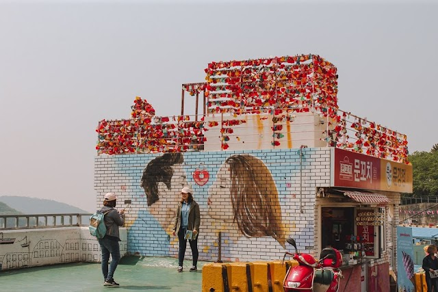 Discover the famous mural village in Korea