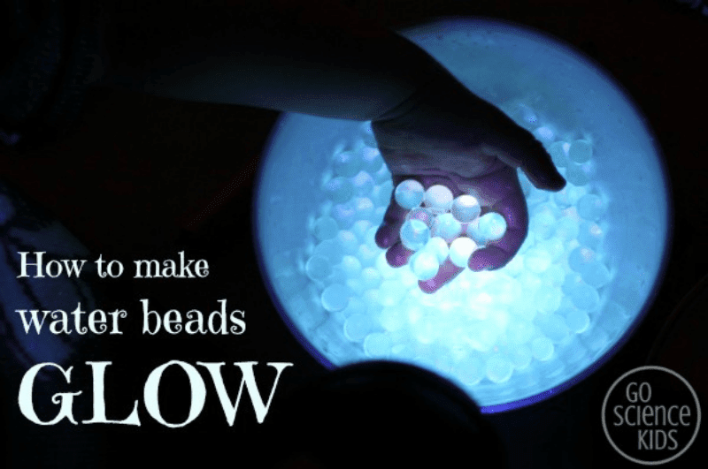 how to make glow in the dark water beads