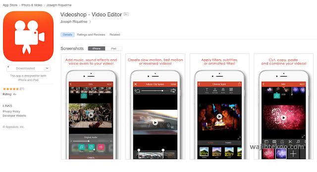 videoshop- video editor