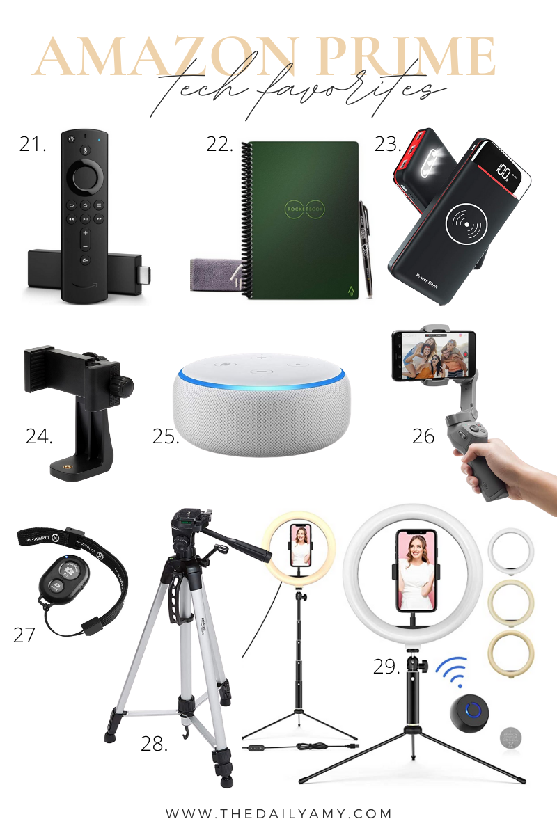 Amazon prime tech favorites