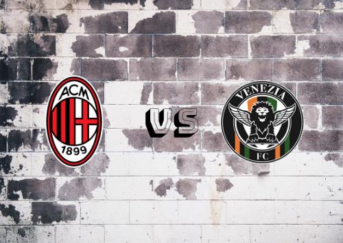 Milan vs Venecia  Resumen