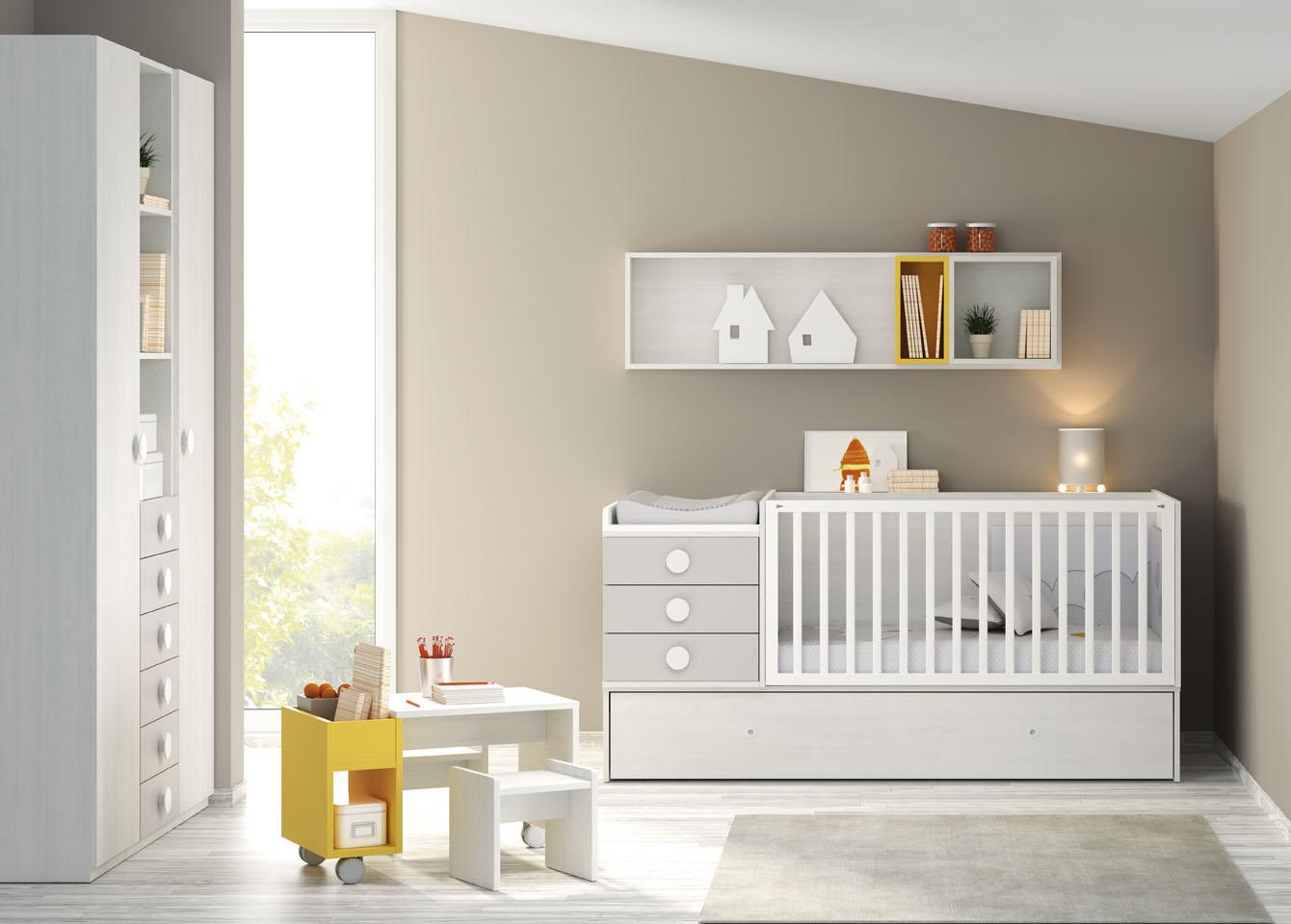 Muebles ros cuna convertible la opci n m s sostenible - Habitaciones de bebe convertibles ...