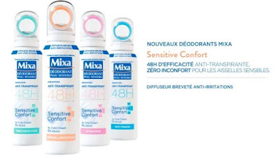 Anti-Transpirant 48h Sensitive Confort - Mixa