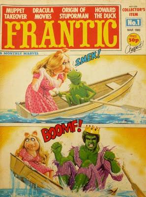 Frantic #1, Kermit and Miss Piggy
