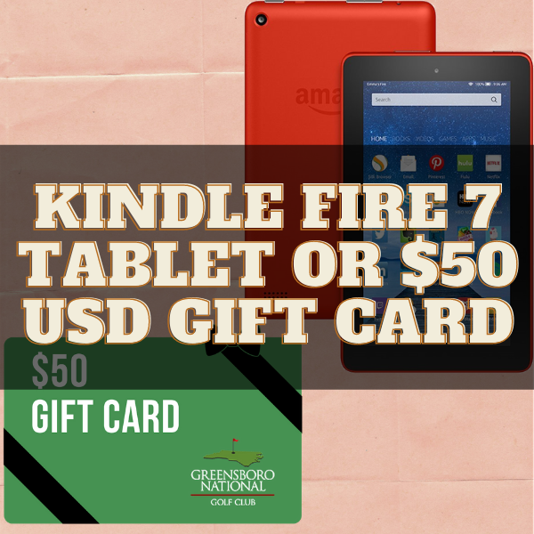 Kindle Fire 7 Tablet OR $50 USD gift card Giveaway ( Worth Over : $50)